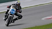 Mackenzie on his way to the Silverstone win...