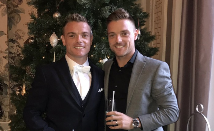 Sam (left) and Alex Lowes. Twins, in case you wondered...