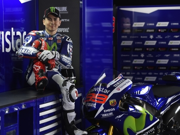 Jorge Lorenzo and his M1