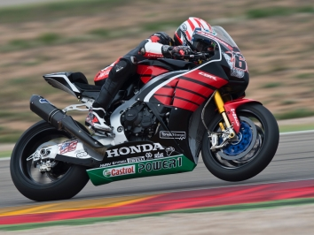 Nicky Hayden Aragon World Superbike debut