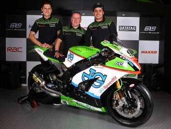 JG Speedfit Kawasaki 2016 team launch