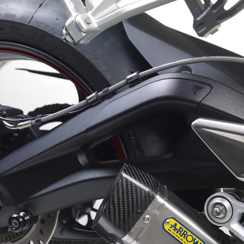 Swing arm protector