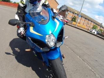 2017 Suzuki GSX-R1000 first UK road ride