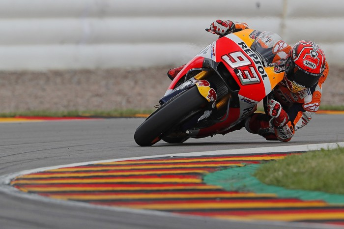 Motogp Germany Marquez Wins With Rookie Folger Second