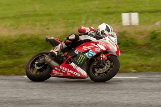 Milwaukee Yamaha's William Dunlop in action