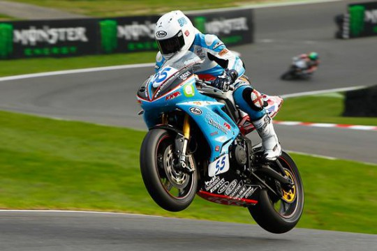 Rouse on the mountain at Cadwell Park
