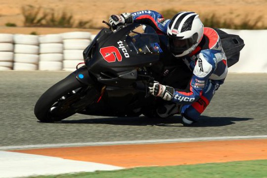 Dunlop tested successfully at Cartagena last weekend