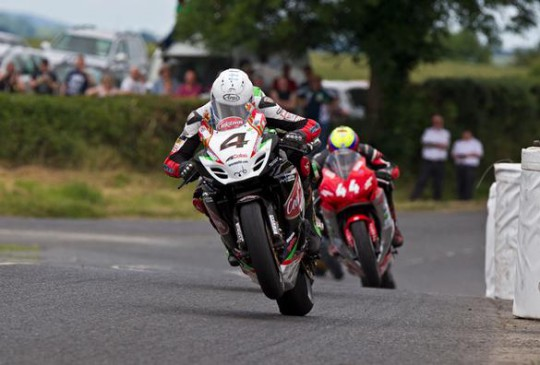 Kneen on his way to a double at Kells