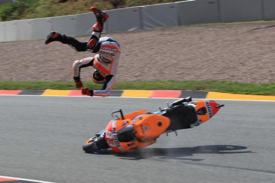 It looked like Marquez had zero traction control available