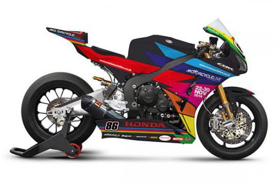 Honda to run special Motorcycle Live colours at Silverstone BSB - Bikesport News