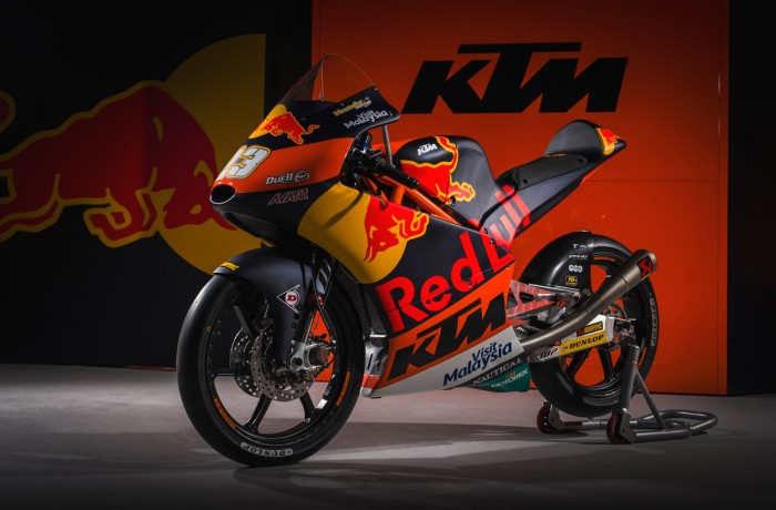 KTM launches 2017 MotoGP, Moto2 and Moto3 campaigns - Bikesport News