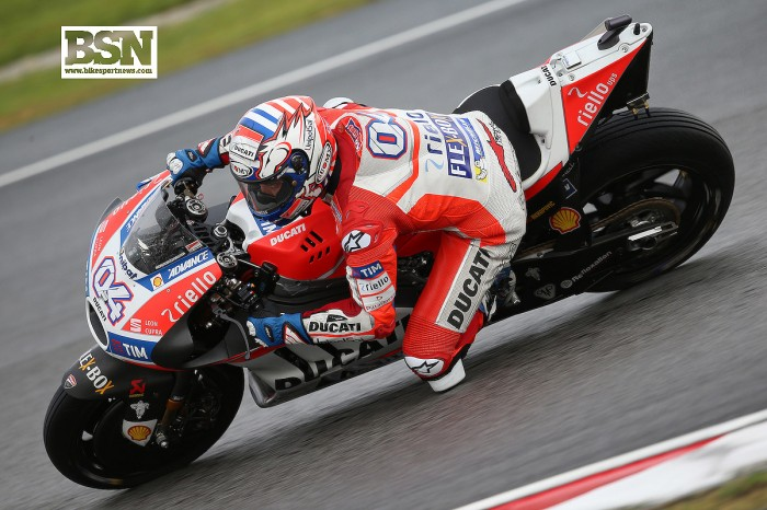 MotoGP Sepang: Dovizioso able to win 'in all conditions'