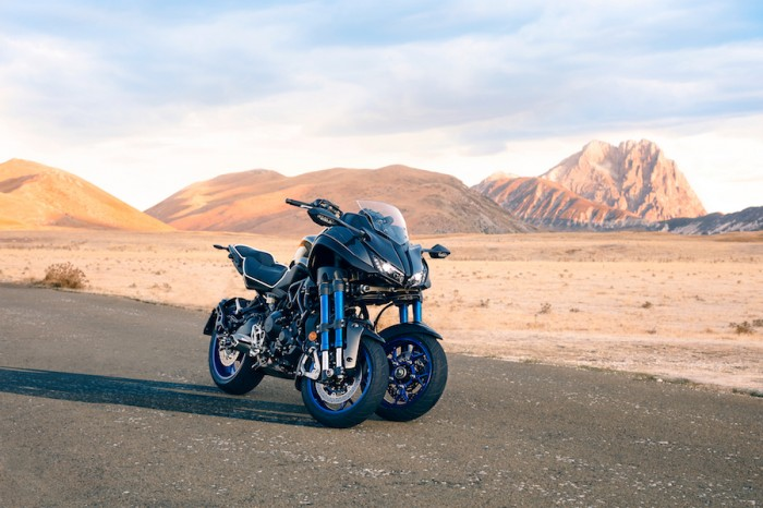 Yamaha Niken - crazy name, crazy 'bike'?