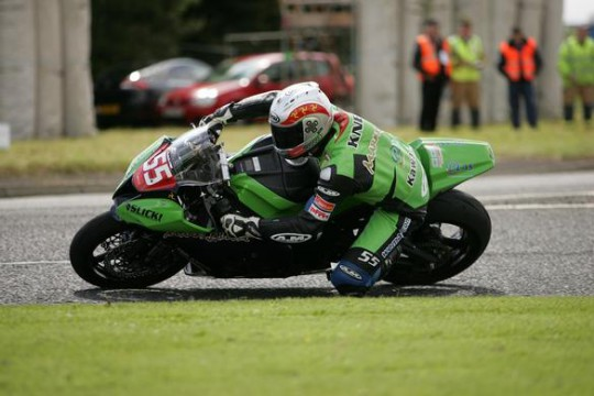 Kneen at the Magic Roundabout yesterday