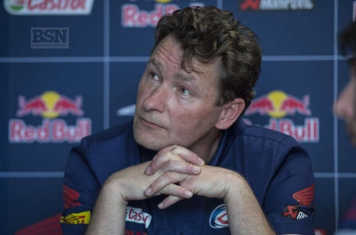 Ronald Ten Kate will have to move fast to be on the 2019 grid. Hello, is that Steve Hicken?