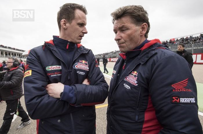 Kervin Bos (left) and Ronald Ten Kate will be back in 2019 but not in those jackets