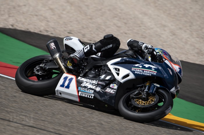 Britain's Kyle Smith is back in WorldSSP action