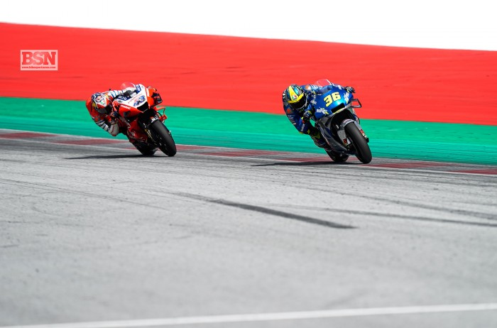 Motogp Austria Fighting These Guys With These Engines Was Tough Mir Bikesport News