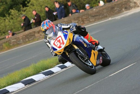 Cooper on his way through the Gooseneck last night