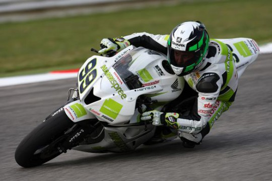 Here's a picture of Fabien Foret. That won't happen again this year