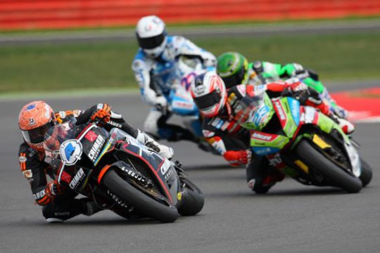 Rea passes Parkes on his way to a high-point of fourth