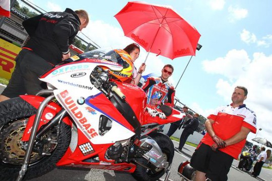 Lowry won't be on the grid for tomorrow's first BSB race