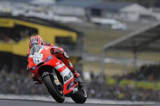 Hayden is in doubt for the first 2012 MotoGP test at Sepang