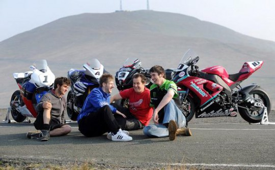 Martin, Hutchinson, McGuinness and Cummins are all confirmed for TT2012
