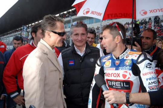 The deal to get Bayliss back on a bike just fell short