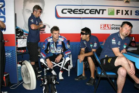 Camier contemplates his options at Phillip Island...