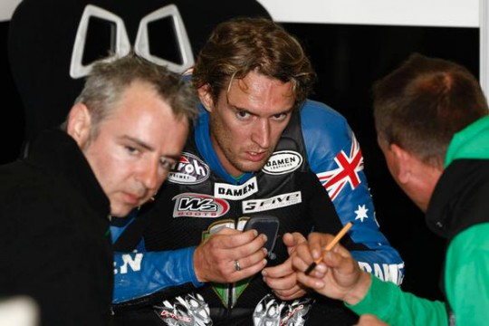 West leaves the Supersonic BMW team a rider short
