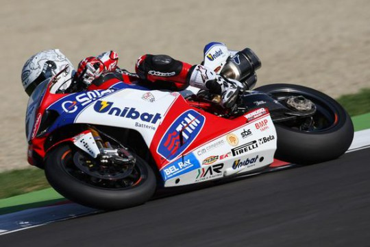 Checa is now just eight points behind Biaggi in the points table