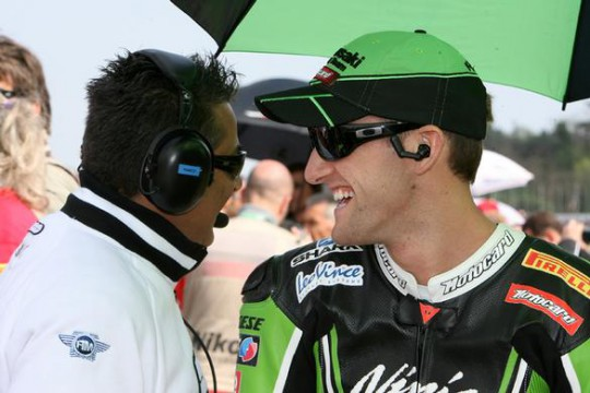Sykes was fastest again in testing today