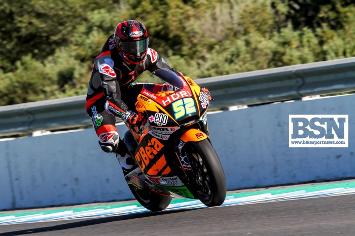 Danny Kent in action on the Speed Up