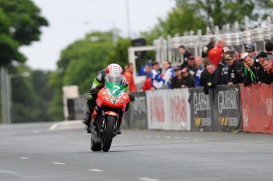 Rutter crosses the line for a third in the Lightweight