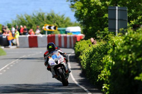 Anstey took a single Supersport win at this year's TT