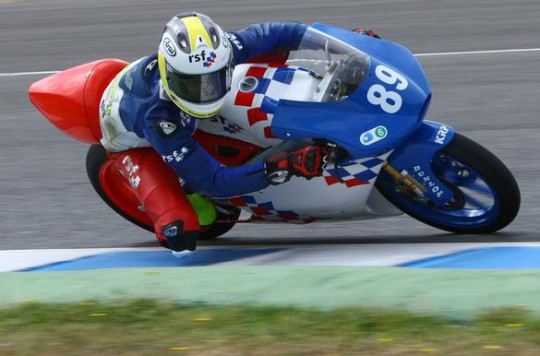 Fraser Rogers was the best of the CEV Moto3 Brits