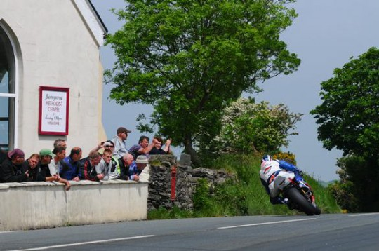 McGuinness about to plunge down Barregarrow