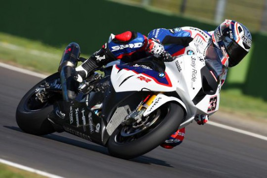 Melandri has taken top spot in Spain