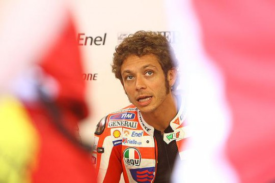 Rossi says moving the bike's weight around isn't working