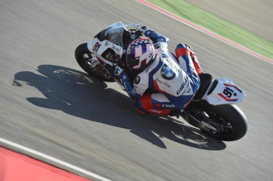 Leon Haslam will be hoping to find some answers today