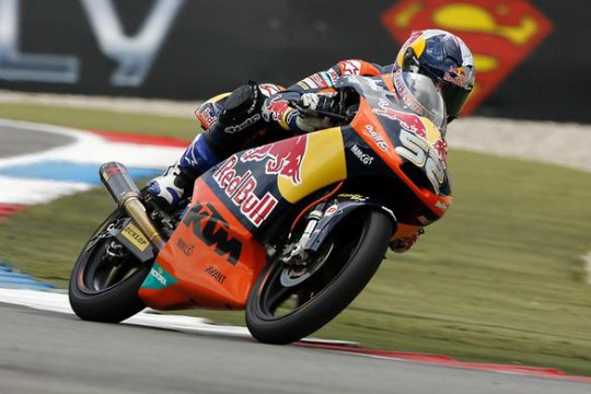 Kent in action at Assen last weekend