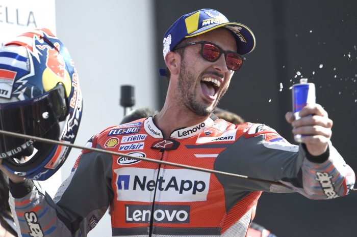 add5191f39 Andrea Dovizioso has said that he had to minimise risks en route to winning  his third MotoGP race of the season and his first ever at his home Grand  Prix in ...
