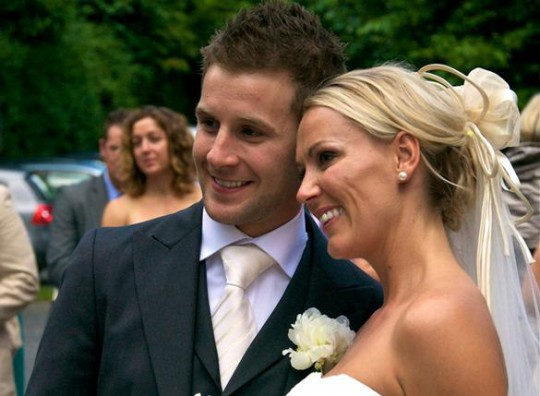 Mr and Mrs Jonathan Rea