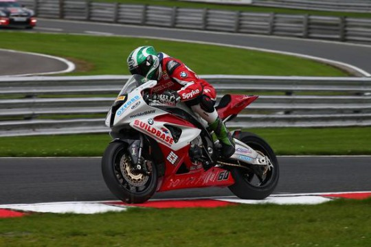 Hickman in action at Oulton Park