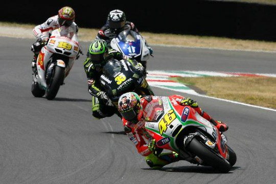 Crutchlow had time to study how The Doctor goes about his business