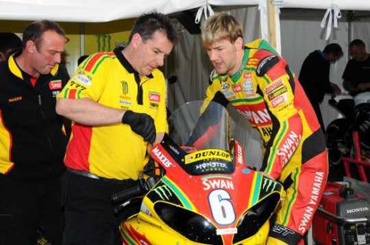 Doctors discovered a further operation on Hutchy's leg was not required