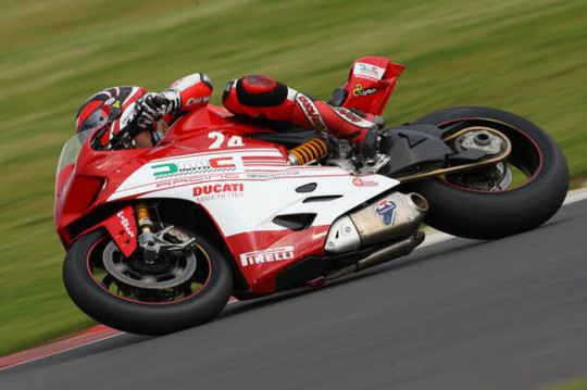 Coghlan bagged a solid fifth place at Silverstone