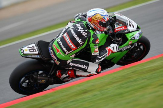 Baz rode a great race to bag his first WSBK win