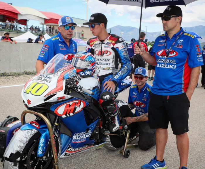 Kelly has been drafted in from MotoAmerica